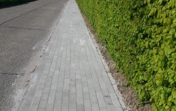 EGHEZEE – Création de trottoirs et d'aménagements de sécurité