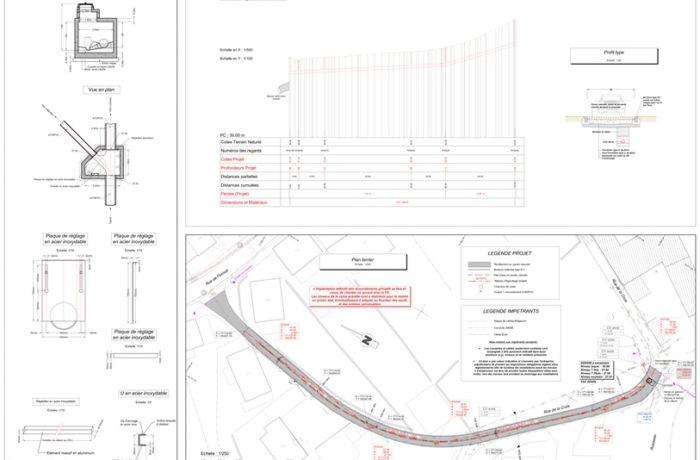 GREZ-DOICEAU – Égouttage conjoint des rues Bois Gibet et la Croix et égouttage exclusif de la rue de la Hocaille