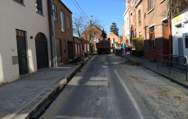 LA HULPE – Plan Trottoir – Réaménagement des trottoirs rue de l'Argentine