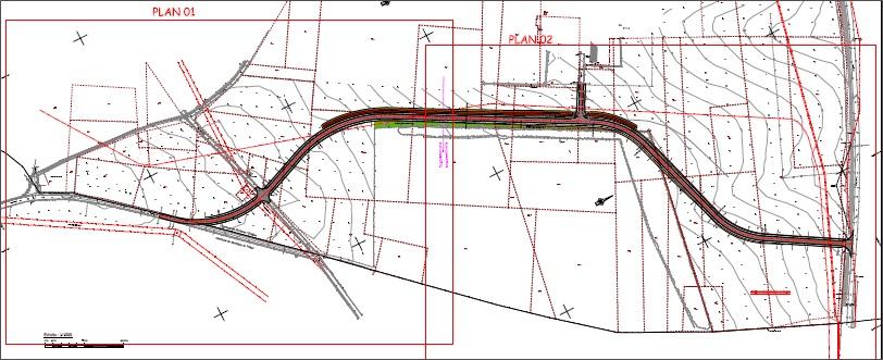 MONTIGNY–LE-TILLEUL FONTAINE-L'EVEQUE – Déplacement du chemin du Cerisier entre la rue de l'Espinette et le Chemin de la Falgeotte