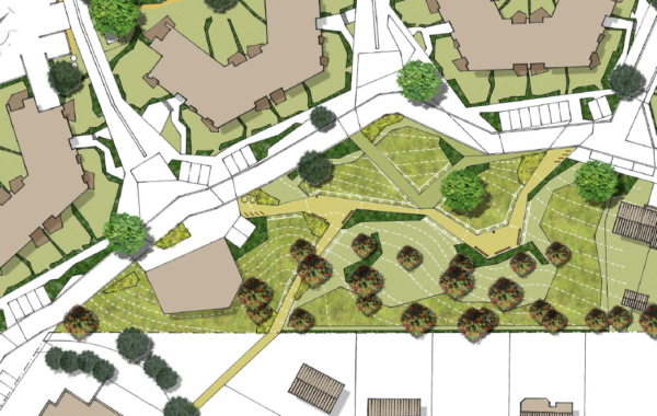 PLATEAU D'ERPENT – Intégration paysagère du parc