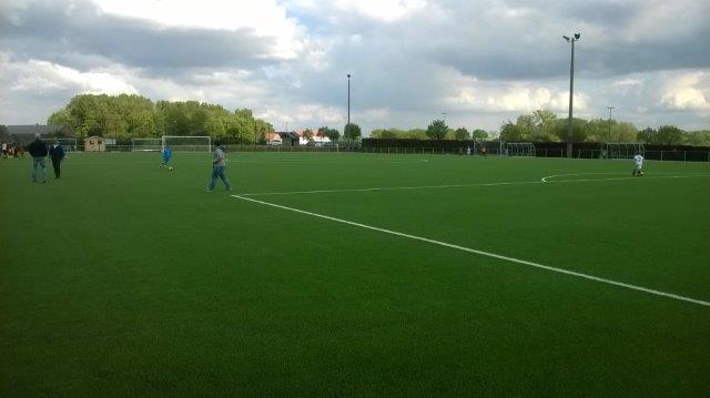 INCOURT – Réalisation d'un terrain de football synthétique