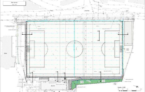 WARTET – Réalisation d'un terrain de football synthétique