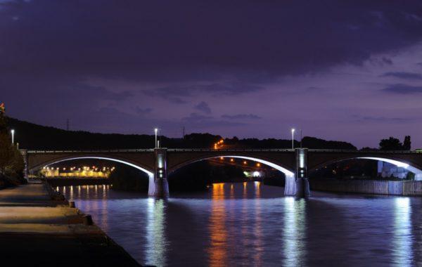 ANDENNE – Mises en lumière du Pont d'Andenne