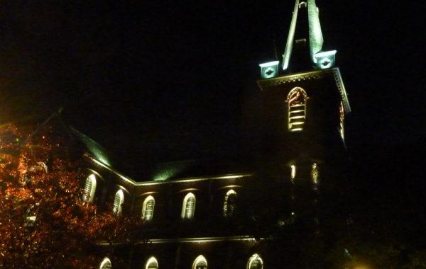 VILLERS-LA-VILLE – Mise en lumière de l'Eglise de Marbais